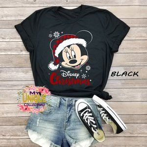 Minnie Mouse Disney Christmas Shirt, Christmas Tee